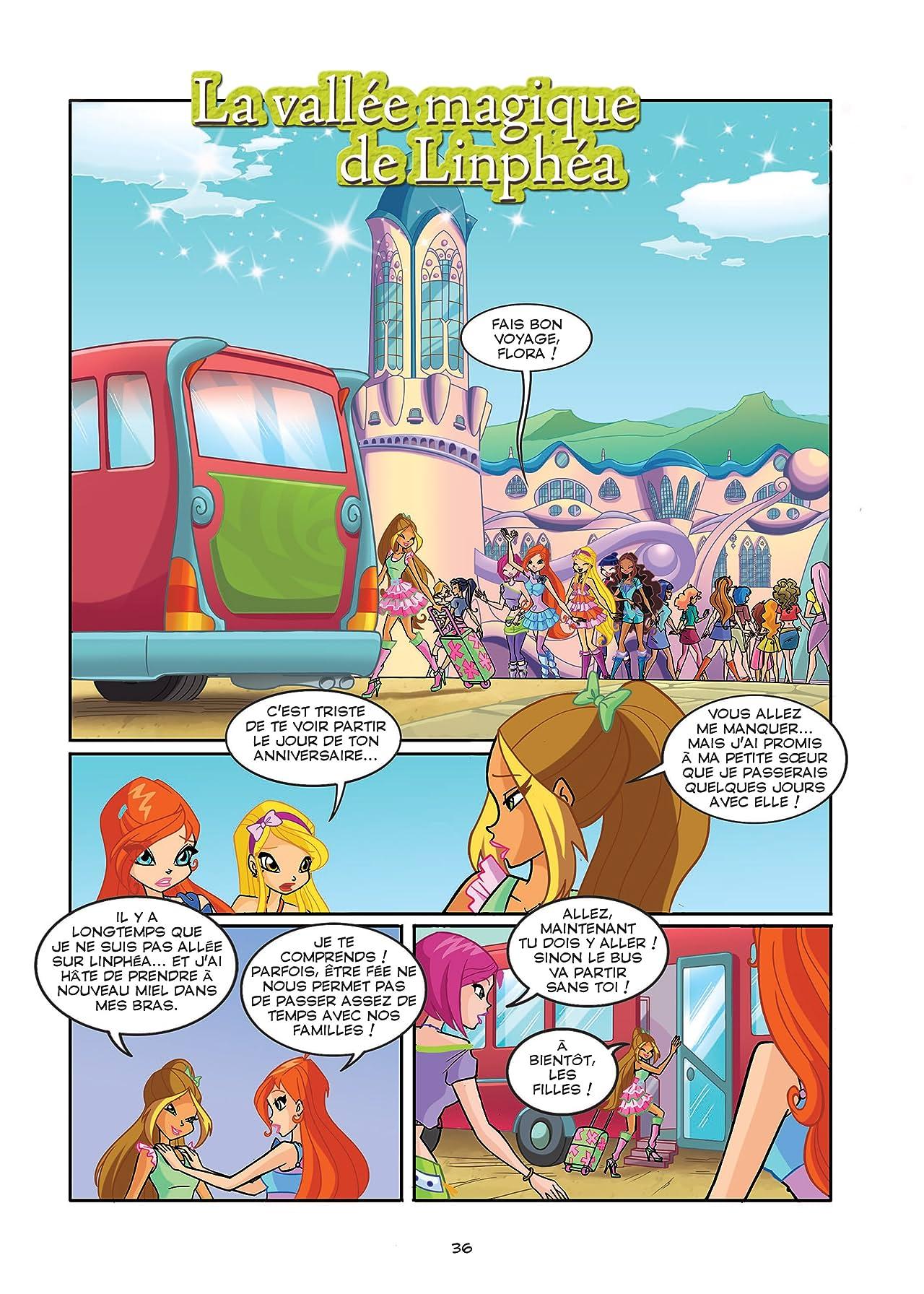 Winx Club #110: La vallée magique de Linphéa