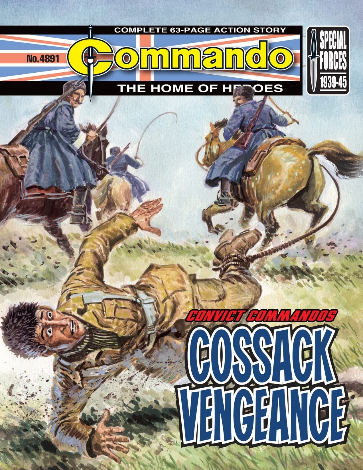 Commando #4891: Convict Commandos - Cossack Vengeance