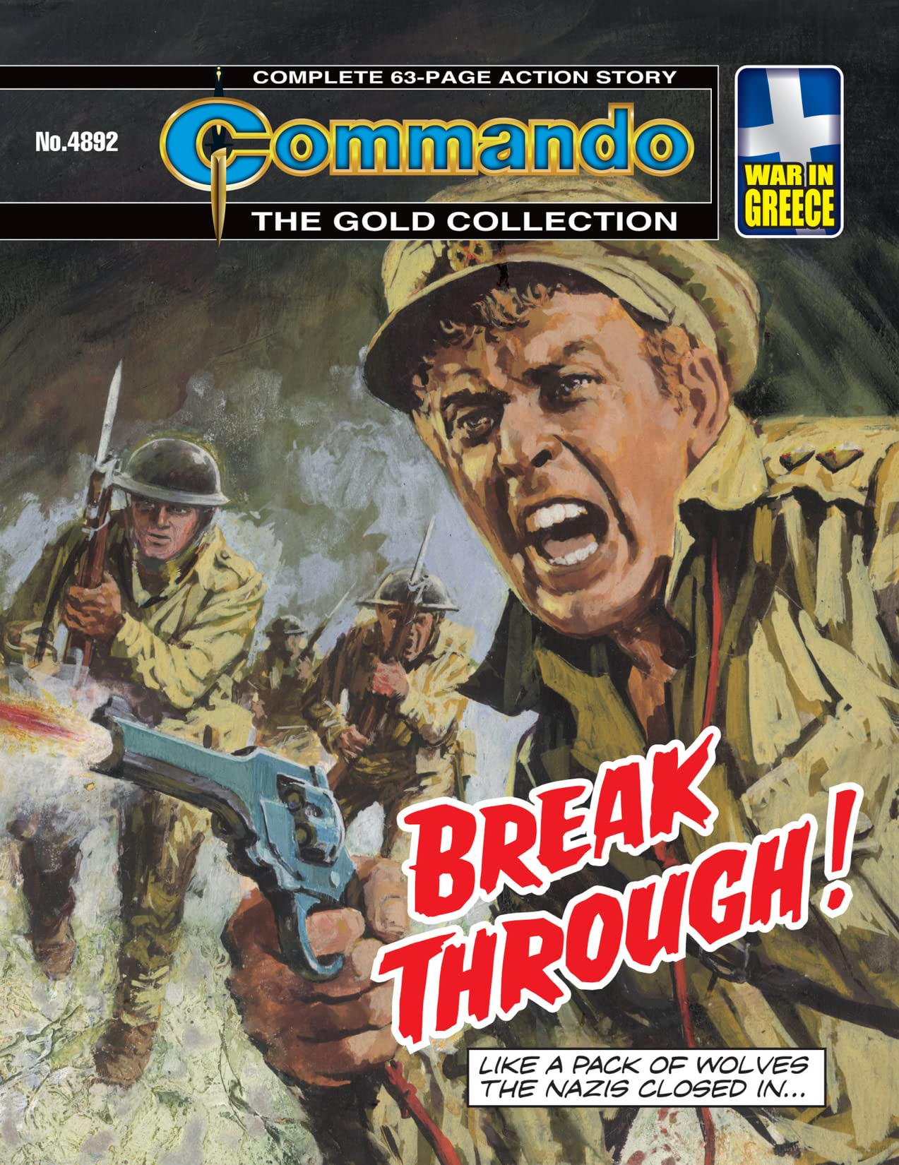 Commando #4892: Break Through!