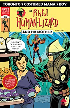 Pitiful Human-Lizard #6