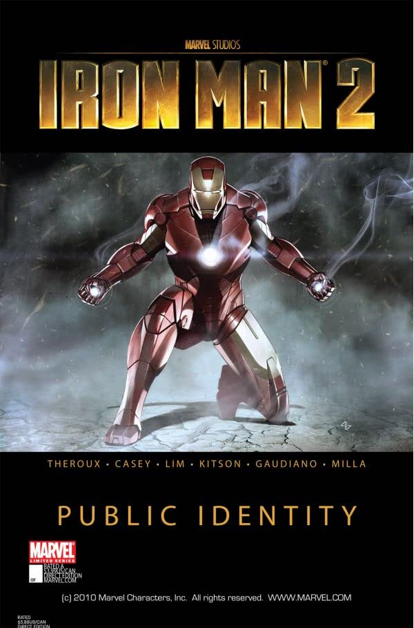 Iron Man 2: Public Identity #2 (of 3)