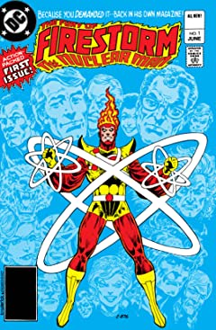 The Fury of Firestorm (1982-1990) No.1