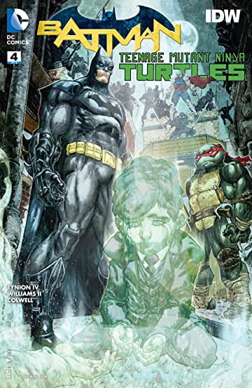 Batman/Teenage Mutant Ninja Turtles (2015-2016) #4