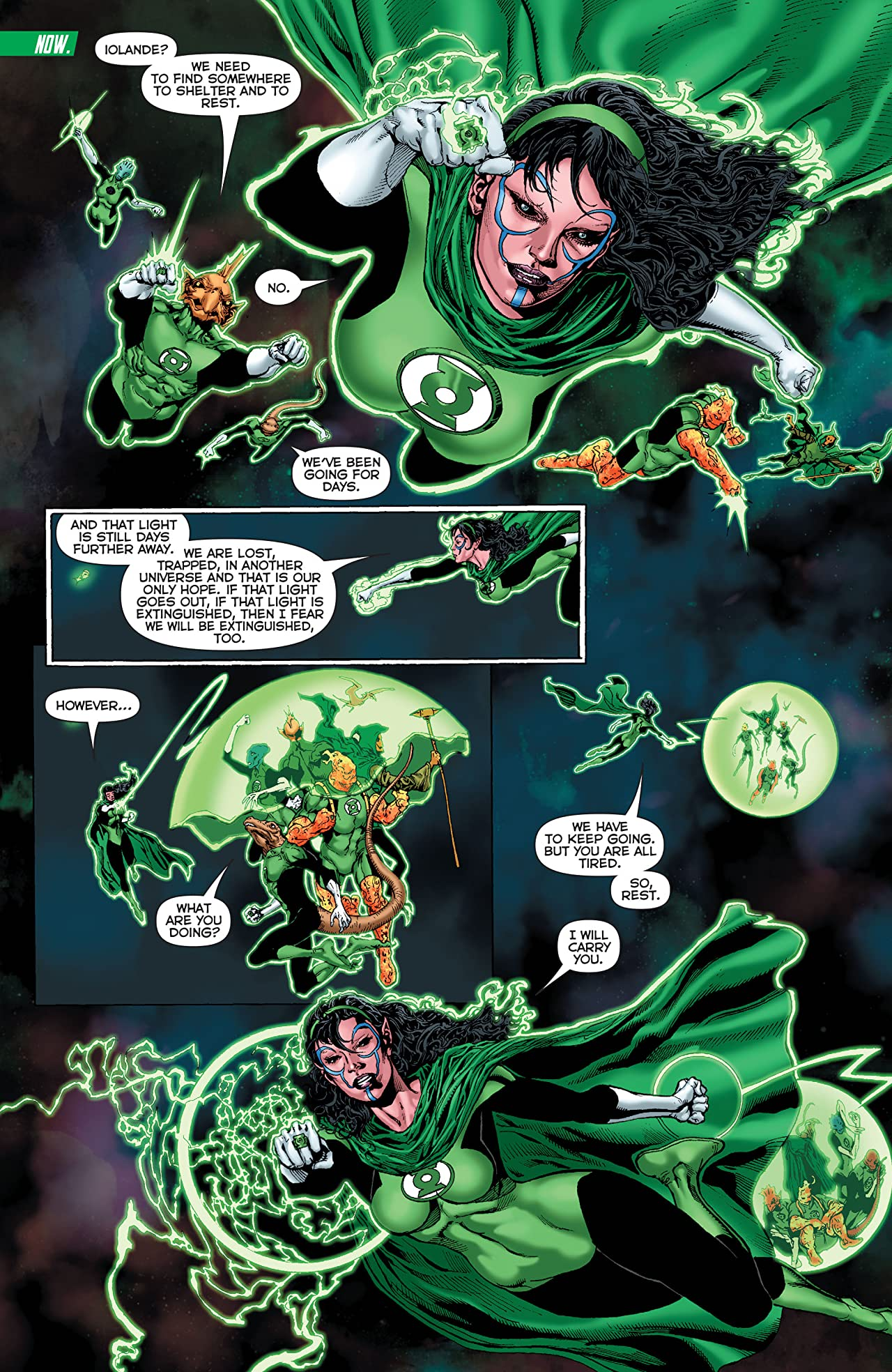 Green Lantern Corps: Edge of Oblivion (2016) #3