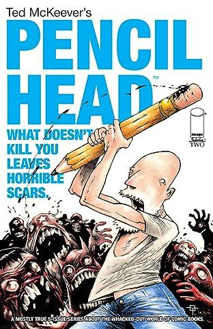 Pencil Head #2 (of 5)