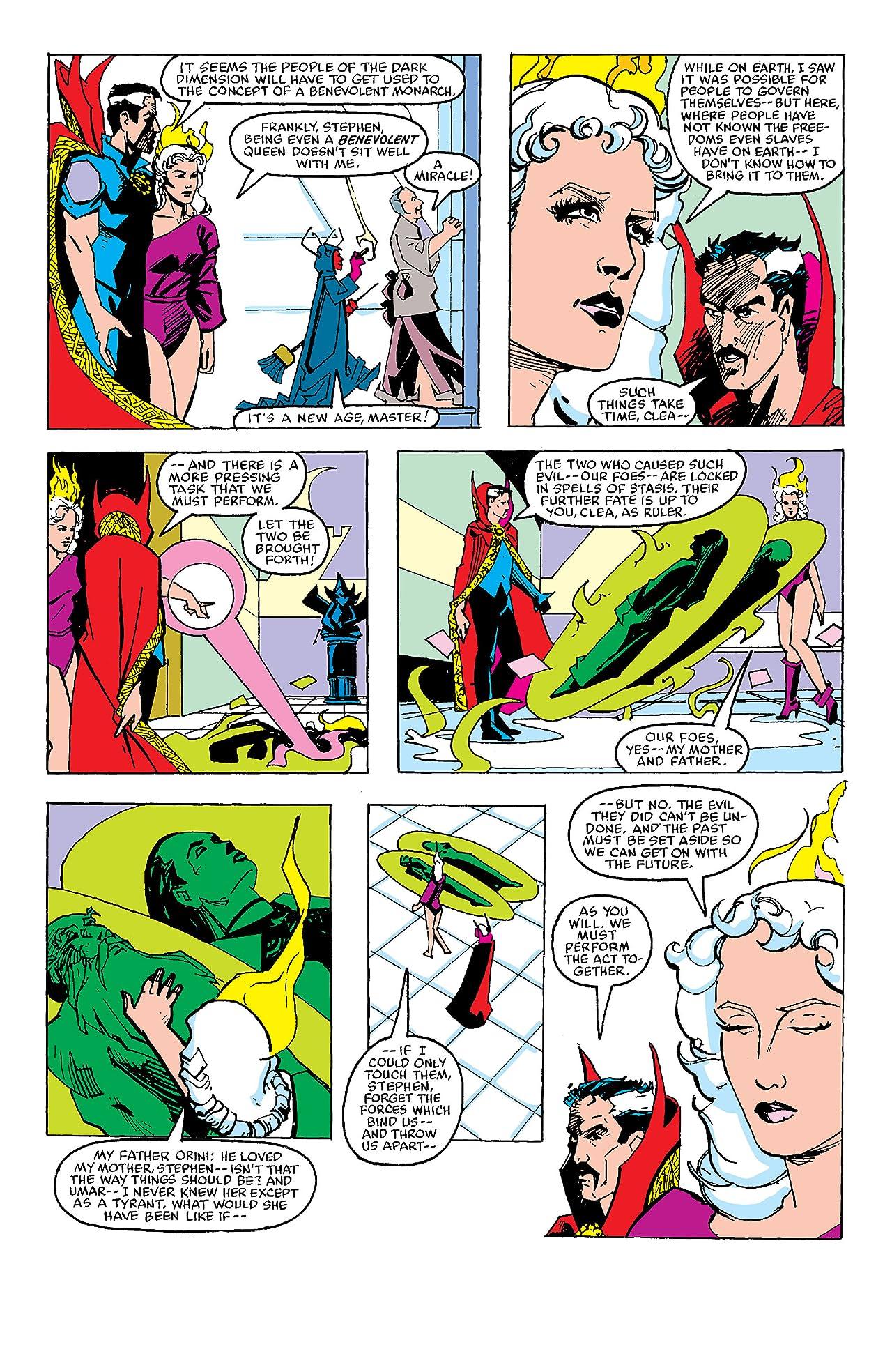 Doctor Strange (1974-1987) #74