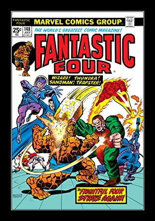 Fantastic Four (1961-1998) No.148