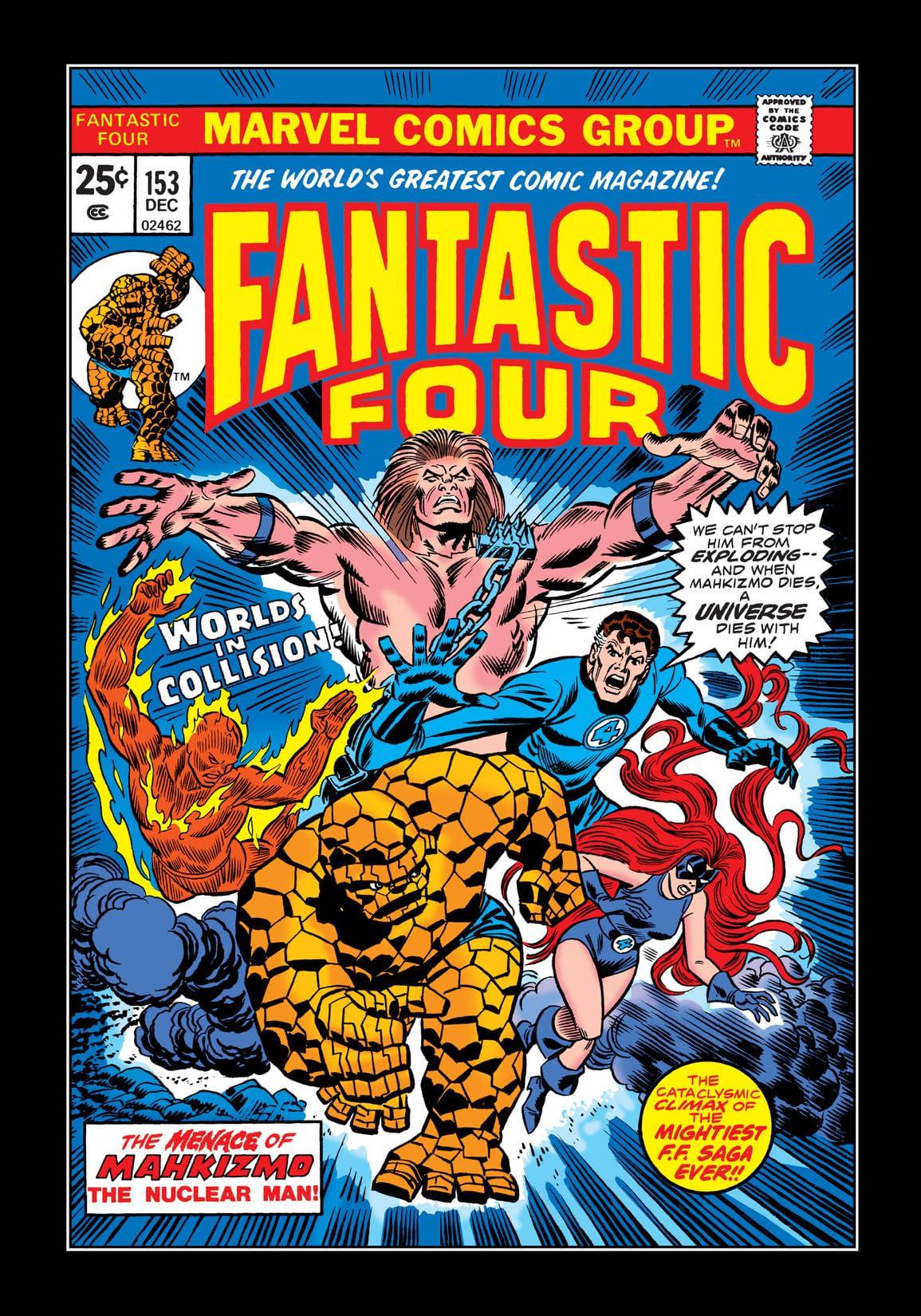 Fantastic Four (1961-1998) #153