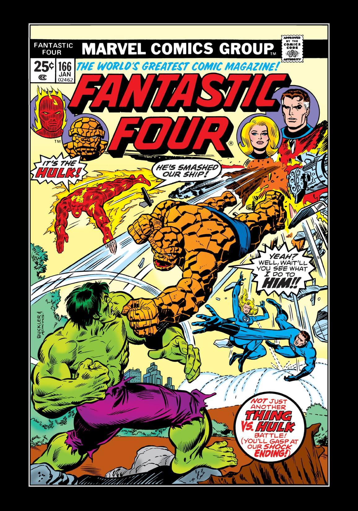 Fantastic Four (1961-1998) #166