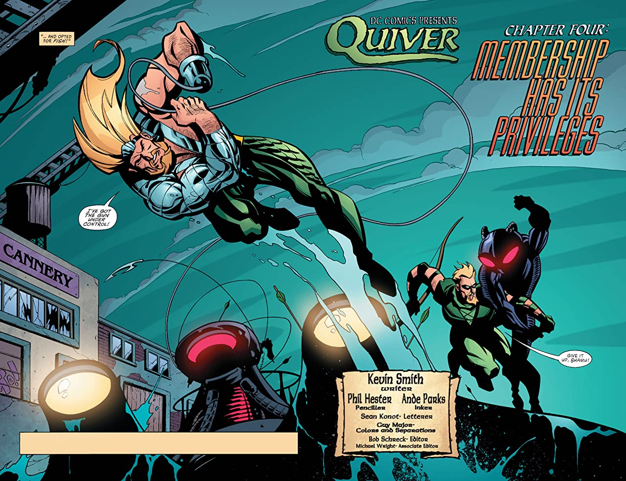 Green Arrow (2001-2007) #4