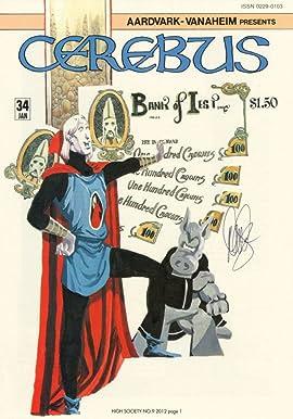 Cerebus Vol. 2 #9: High Society