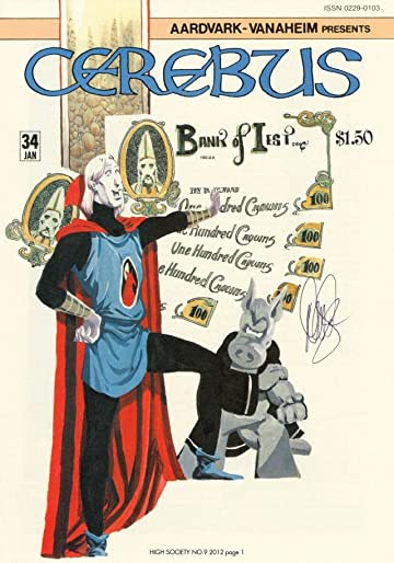 Cerebus Vol. 2 #9: High Society