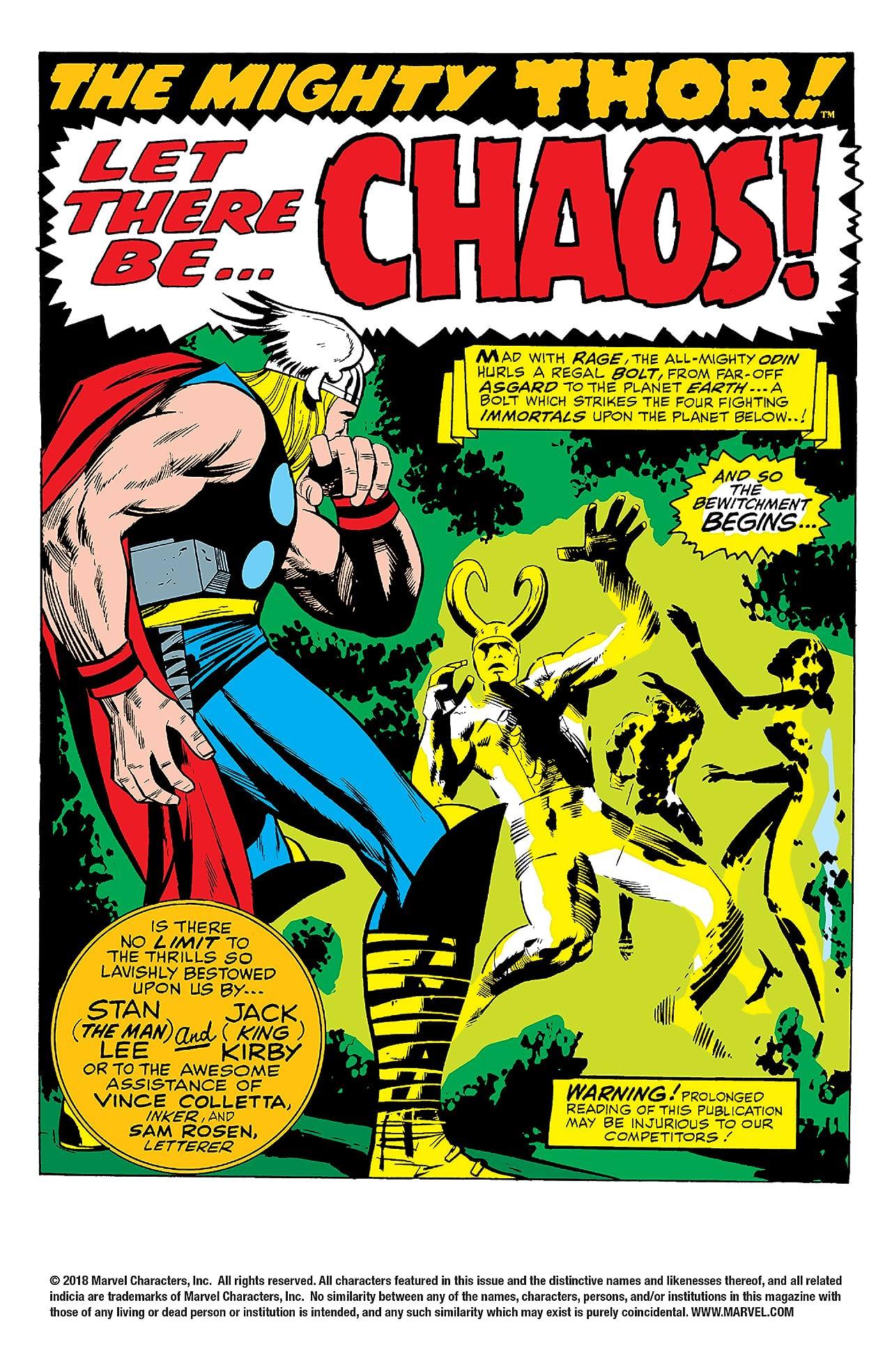 Thor (1966-1996) #148