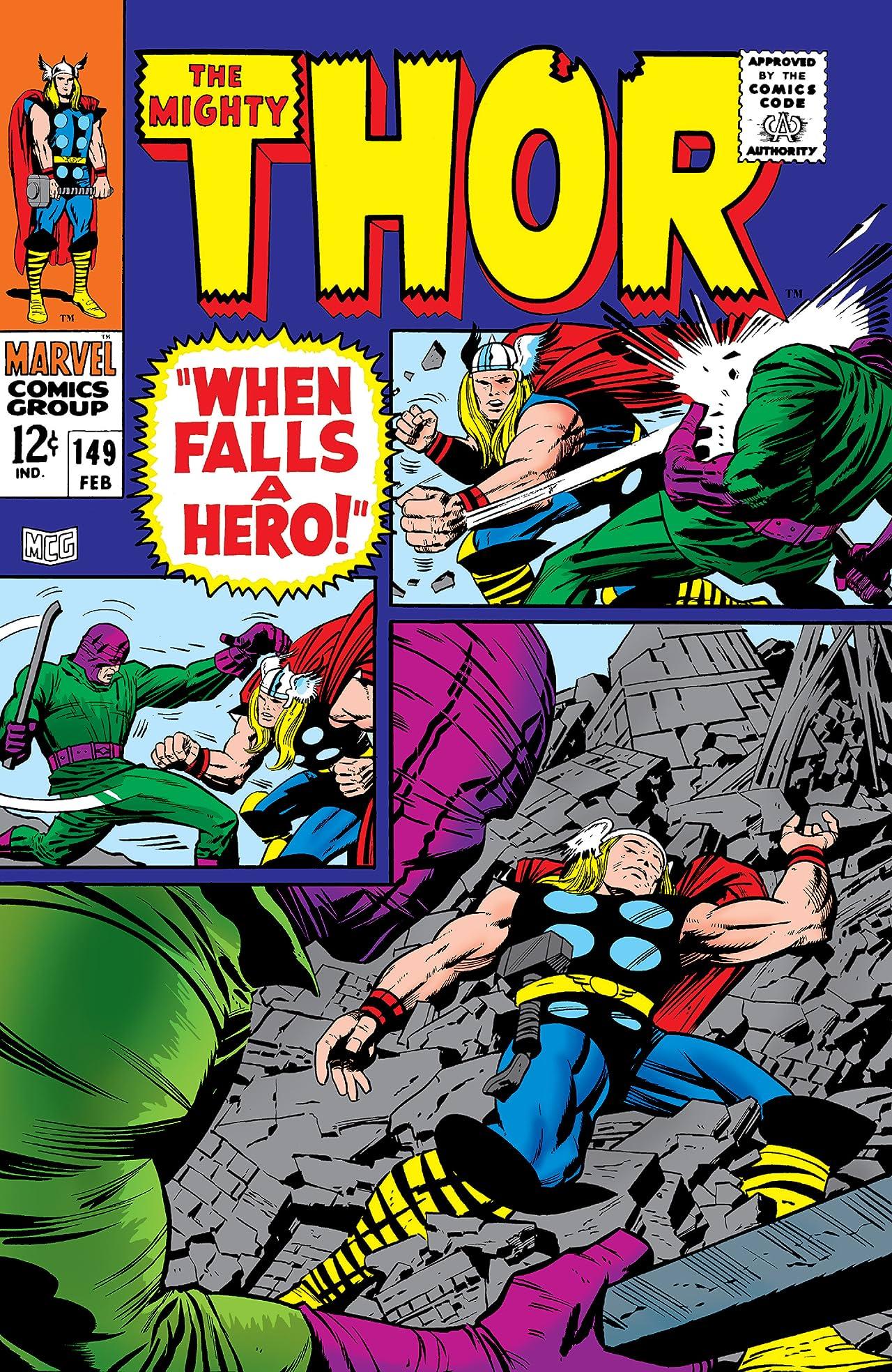 Thor (1966-1996) #149