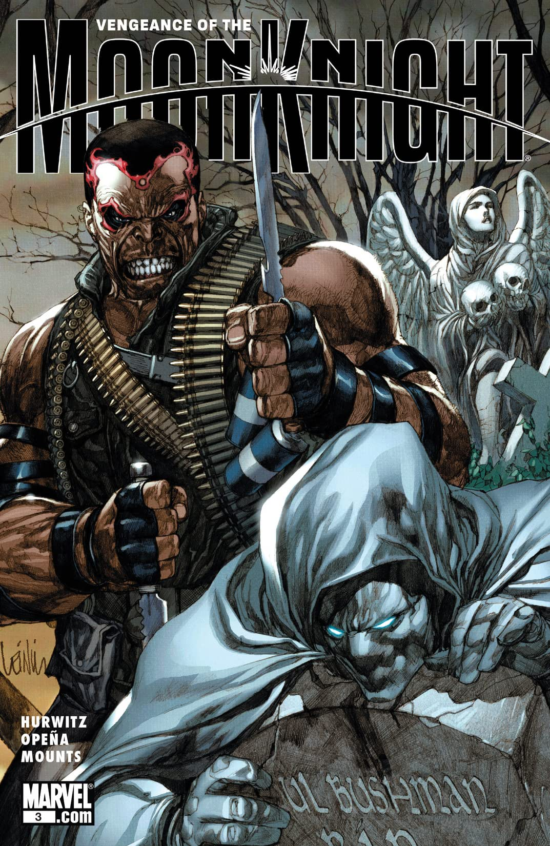 Vengeance of the Moon Knight (2009-2010) #3