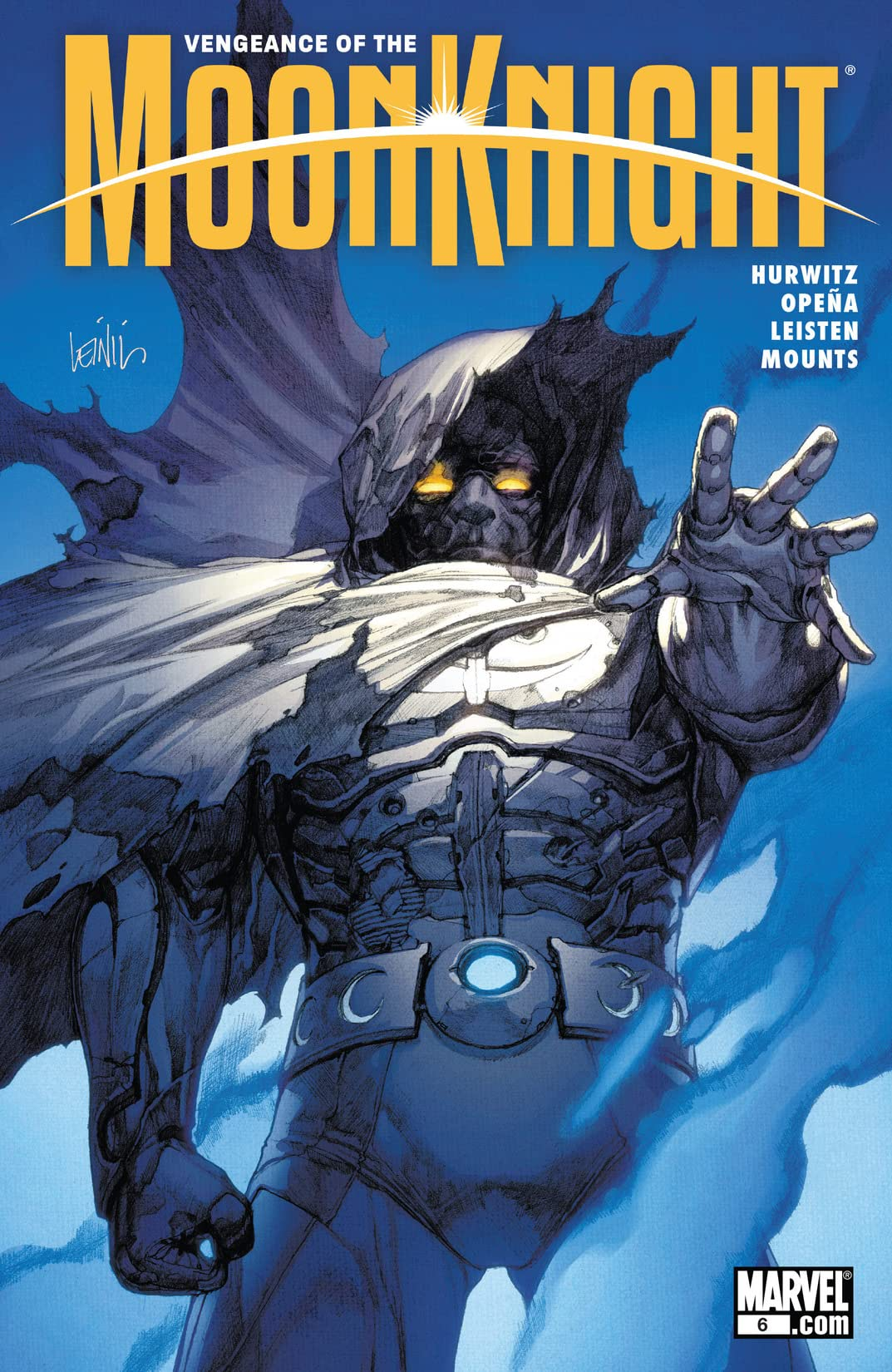 Vengeance of the Moon Knight (2009-2010) #6