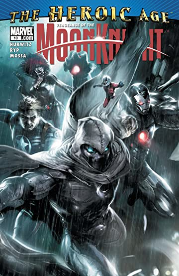 Vengeance of the Moon Knight (2009-2010) #10