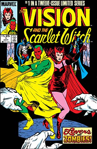 Vision and the Scarlet Witch (1985-1986) #1 (of 12)