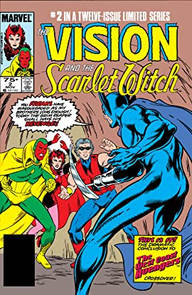 Vision and the Scarlet Witch (1985-1986) #2 (of 12)