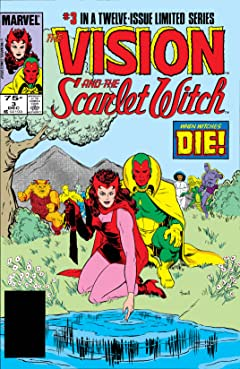 Vision and the Scarlet Witch (1985-1986) No.3 (sur 12)