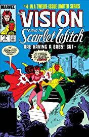 Vision and the Scarlet Witch (1985-1986) #4 (of 12)