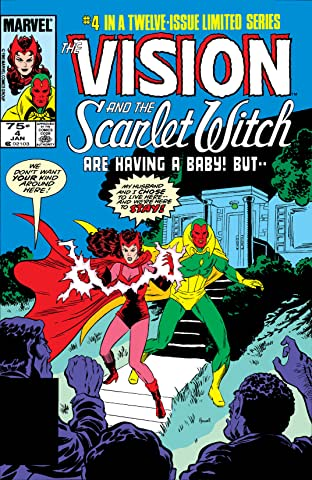 Vision and the Scarlet Witch (1985-1986) No.4 (sur 12)