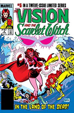 Vision and the Scarlet Witch (1985-1986) No.5 (sur 12)