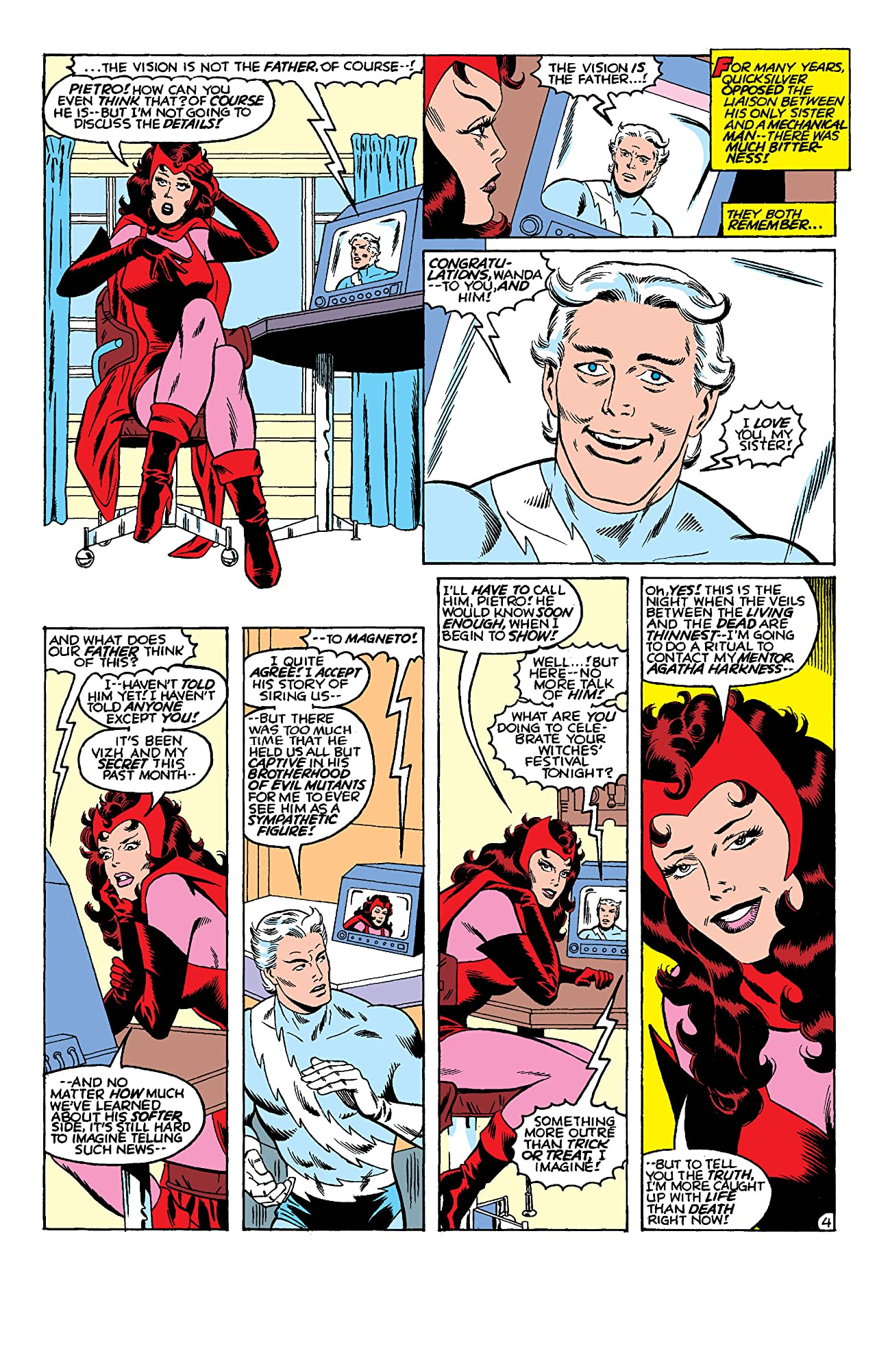 Vision and the Scarlet Witch (1985-1986) #5 (of 12)