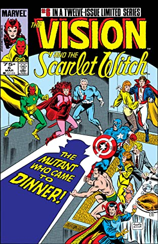 Vision and the Scarlet Witch (1985-1986) #6 (of 12)