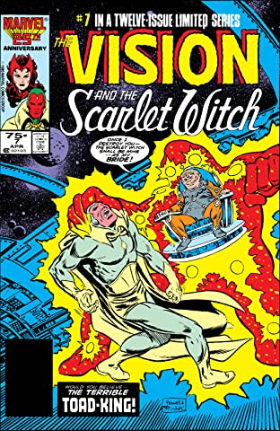 Vision and the Scarlet Witch (1985-1986) No.7 (sur 12)
