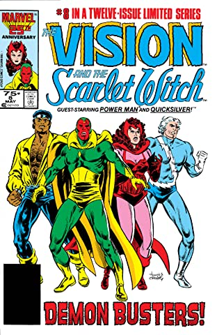Vision and the Scarlet Witch (1985-1986) No.8 (sur 12)