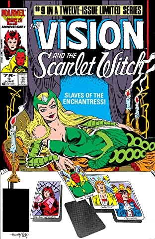 Vision and the Scarlet Witch (1985-1986) No.9 (sur 12)