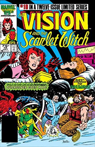 Vision and the Scarlet Witch (1985-1986) #10 (of 12)