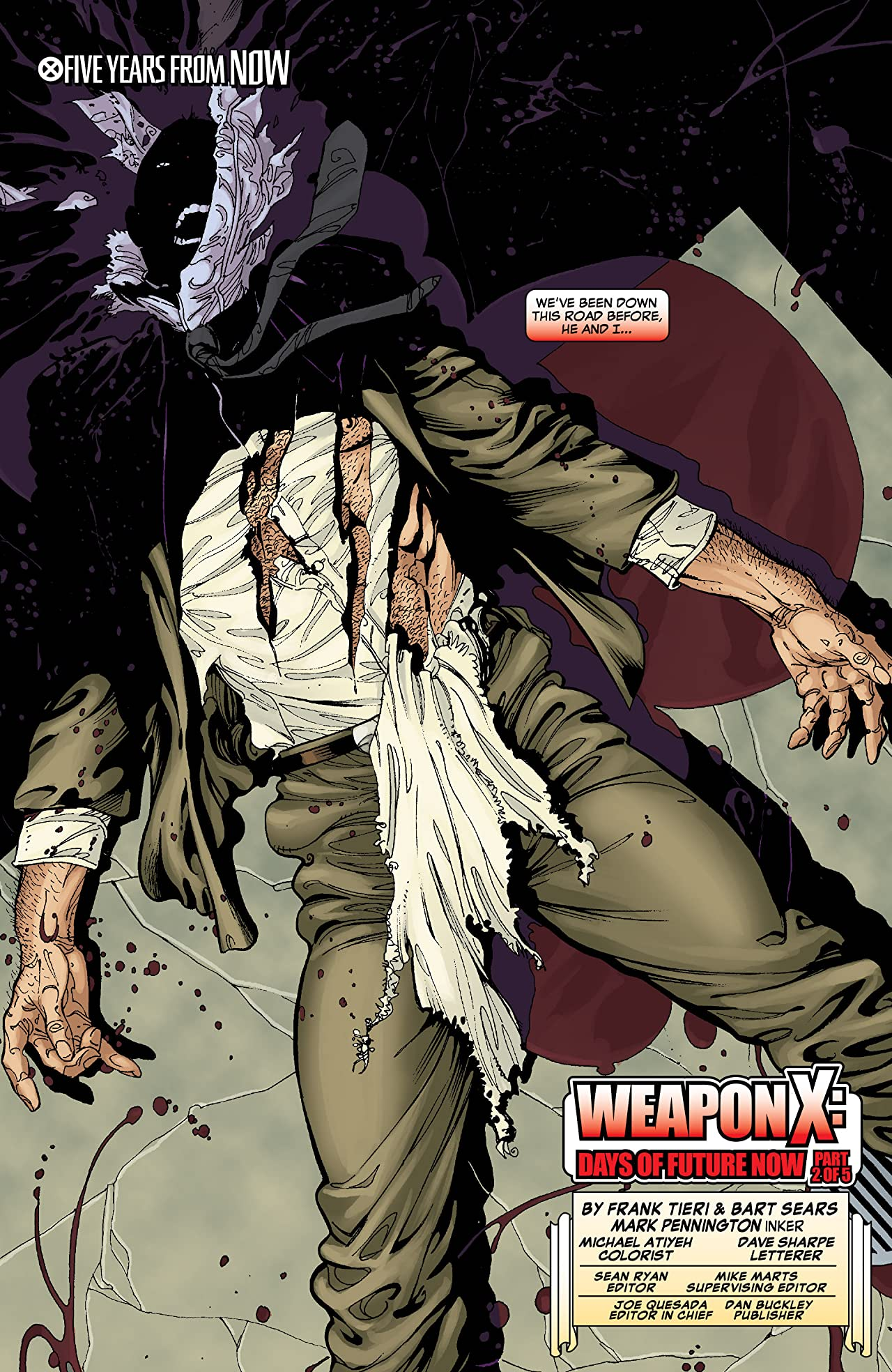 Weapon X: Days Of Future Now (2005) #2 (of 5)