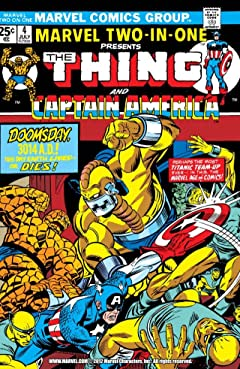 Marvel Two-In-One (1974-1983) #4
