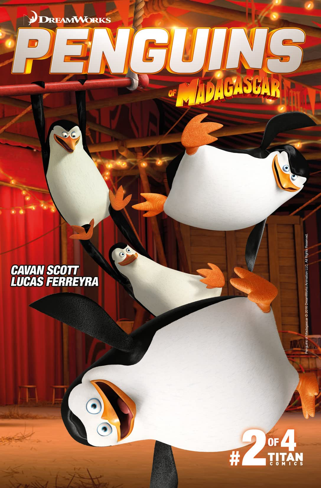 Penguins of Madagascar (2016-) #2