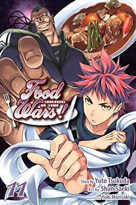 Food Wars!: Shokugeki no Soma Vol. 11