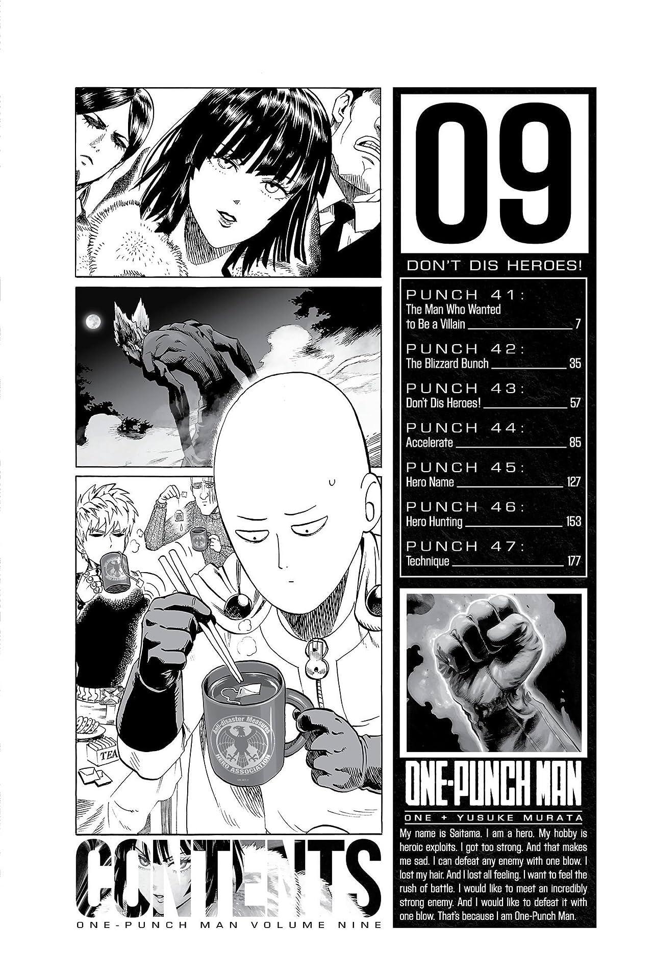 Vol One-Punch Man 9