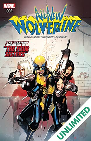 All-New Wolverine (2015-) #6