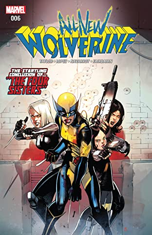 All-New Wolverine (2015-2018) #6