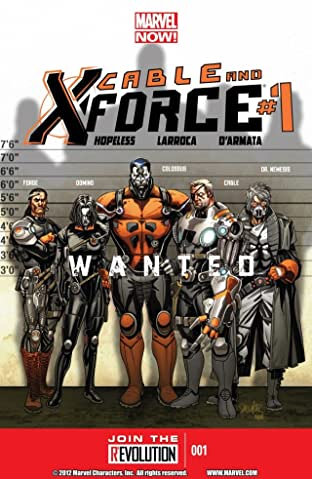 Cable and X-Force No.1