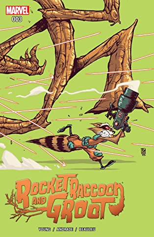 Rocket Raccoon and Groot (2016) #3
