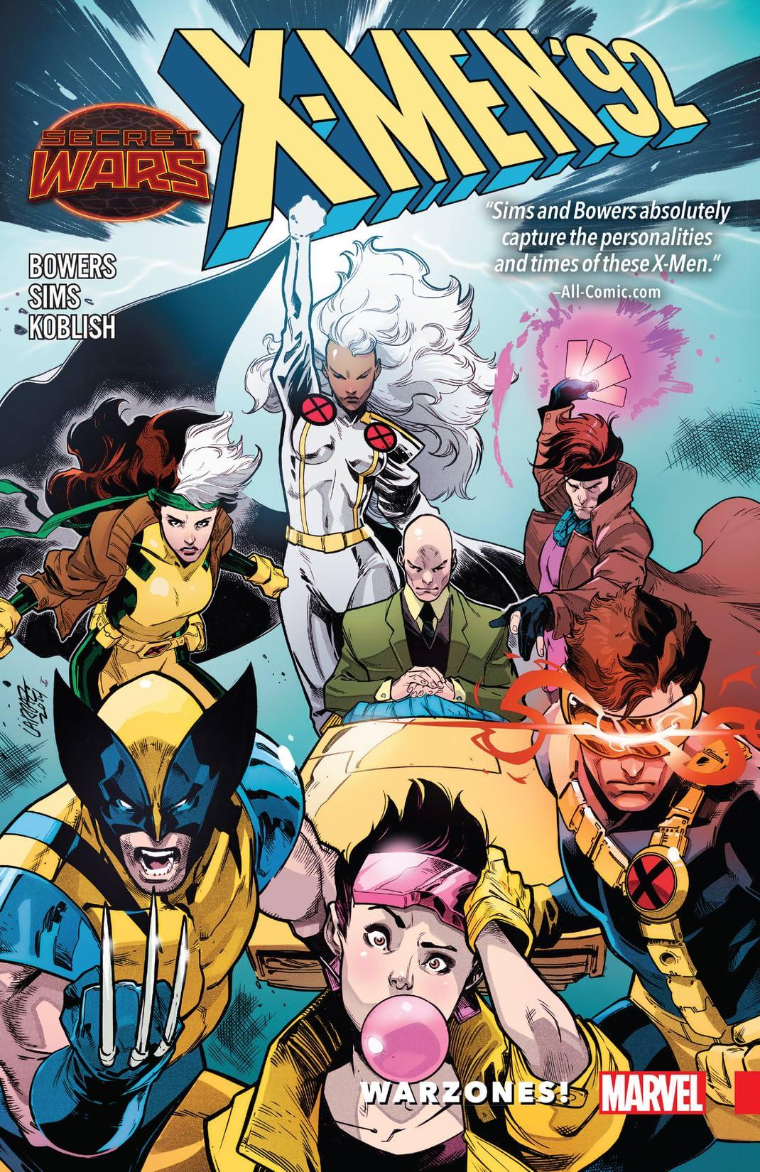 X-Men '92: Warzones!