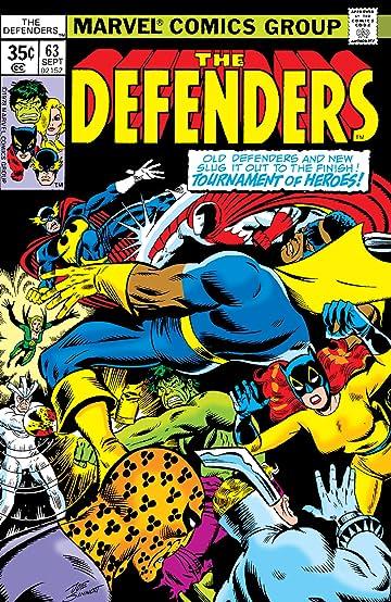 Defenders (1972-1986) #63