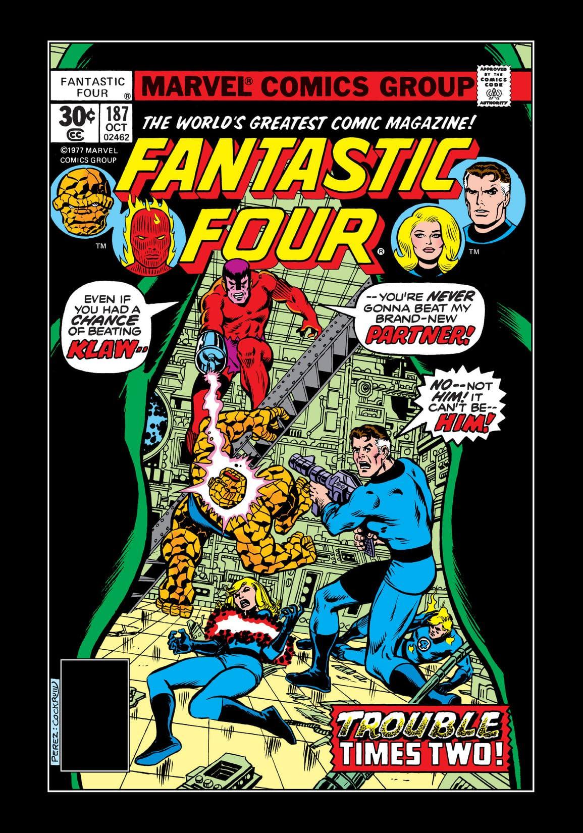 Fantastic Four (1961-1998) #187