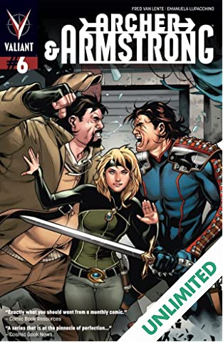 Archer & Armstrong (2012- ) #6: Digital Exclusives Edition