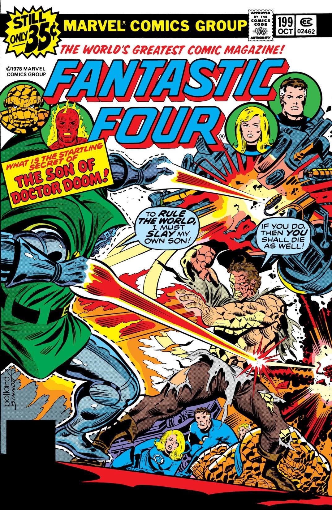 Fantastic Four (1961-1998) #199