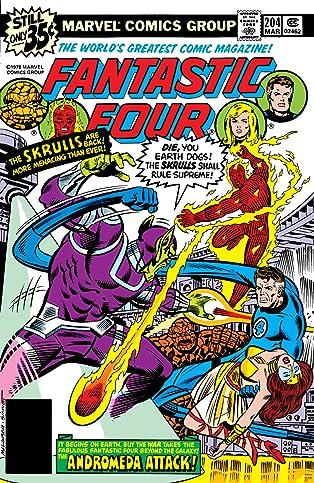Fantastic Four (1961-1998) #204