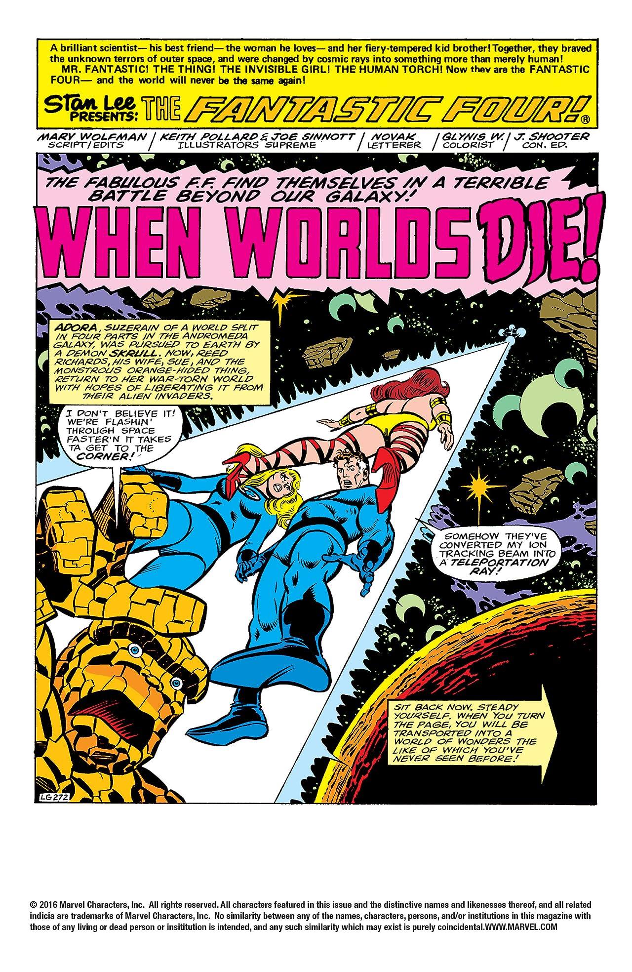 Fantastic Four (1961-1998) #205