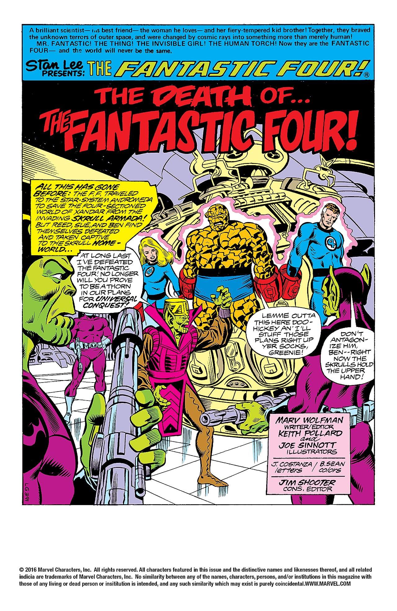 Fantastic Four (1961-1998) #206